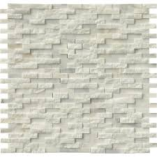 American Olean Porcelain Mosaic Tile by Marazzi Montagna Cortina 12 In X 12 In Porcelain Brick Joint