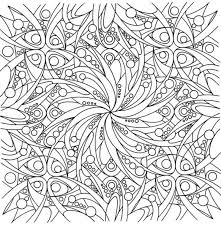 Abstract Hard Coloring Pages For Adults