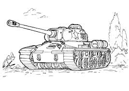Tank Colouring Pages 2 Free Printable Army Coloring For Kids