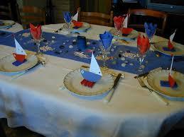 table d anniversaire thème de la mer photo de déco de tables p