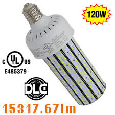 30pcs 120w led corn bulb replace 400watt mh parking lot light
