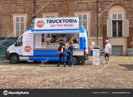 100 Italian Food Truck Festival Market Place Aulic Square Proposing Various