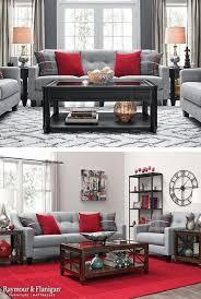 16 luxus grau rot wohnzimmer design10 in 2020 wohnen