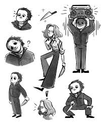Halloween 1978 Michael Myers by Michael Myers And Laurie Strode Halloween 1978 By Yodeki On