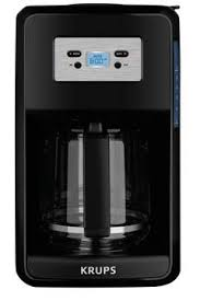 KRUPS Programmable Filter Coffee Machine EC311050 Turbo SS 12 Cup Maker EC414050 Thermal