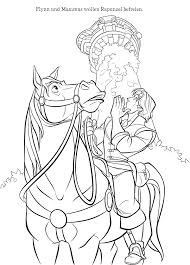 Disney Coloring Pages Tangled Rapunzel This Beautiful Sheet Perfect Kids Pdf Full Size
