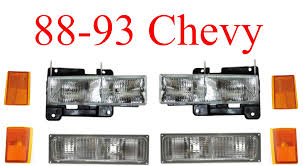 88-93 Chevy Truck 8Pc Head Light Kit, MrTailLight.com Online Store 88 Chevy Truck Custom High Lamps Greattrucksonline Turn Signal Wiring Diagram 1500 Electrical Schematics 7388 New Usa630 Ii 300 Watt Am Fm Stereo Radio Ipod Czeshop Images 1988 Lowering Interior Chevrolet Ck Henry_racing Silverado Regular Cab Specs Photos Where Is The Ecm Fuse Chevy Pu Push Bar Questions What Kind Of Exhaustheaders Should I 86 Transmission Trusted Diagrams