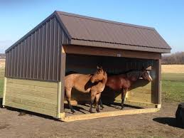 Livestock Loafing Shed Plans by Buildings By Alpha
