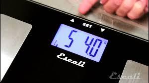 Eatsmart Precision Digital Bathroom Scale Manual by How To Setup U0026 Use Escali Health Monitor Bath Scale Ushm180g