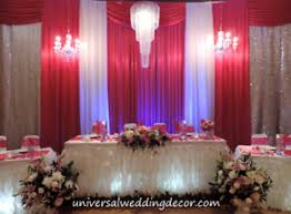 WEDDING DECORATION EVENT DECOR FLOWER DRAPING CHAIR COVER