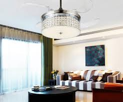 Led Light Ceiling Chandelier Fan Variable Expansion Simple