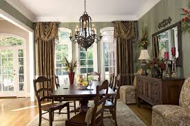 Grand Drapes For Formal Dining Room Curtains Image Gallery Pic On Burgundy Ideas Small Windows