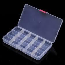 10 15 24 36 compartiment boîte rangement plastique stockage bijoux