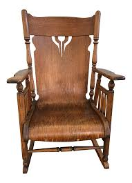 Rolled Antique Oak Rocking Chair Seat Images Vintage Used Antique Rocking Chairs For Sale Chairish Learn To Identify Fniture Chair Styles 1890s Amish With Cane Back And Upholstered Seat Fding The Value Of A Murphy Thriftyfun Stickley Arts Crafts Mission Style Oak Rocker Murphys Rocking Chairgrandparents Had One I Casual Ding Brown Cushion Wood Metal Rolling Caster Serta Upholstery Monaco Wing Rotmans Hay Llrocking Chairnordic Style Design Chair How Replace Leather In An Everyday Solid Oak Carver Ding Room Hall Bedroom Vintage With Arms Carryduff Belfast Gumtree