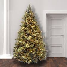 Laurel Foundry Modern Farmhouse Green Pine Trees Artificial Christmas Tree With Clear White Lights Reviews