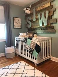 woodland boy crib bedding gray buck deer skin minky white gray