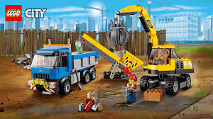 60075 Excavator And Truck - Wallpapers - LEGO® City - LEGO.com US