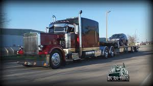 100 Davis Trucking Jimmy 1986 Peterbilt 359 YouTube