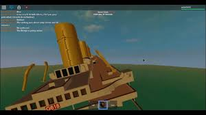 sinking of the h m h s britannic roblox lets play 2 youtube