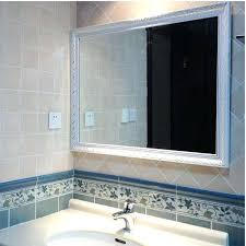lighted wall mount vanity mirror 6 in x 9 in wall mounted led