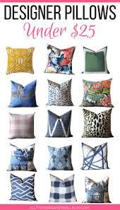 Pier One Blue Throw Pillows by Affordable Throw Pillows Designer Accent Pillows For Under 25