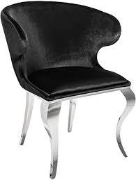 riess ambiente de eleganter stuhl modern barock ii schwarz