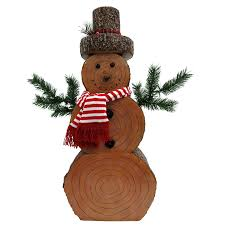 Lowes Canada Outdoor Christmas Decorations by Shop Holiday Living 3 35 Ft Freestanding Snowman Sculpture At