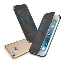 Smart Touchable Flip Transparent View Window Case Cover For iphone