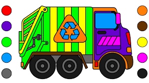 Learn Colors For Kids With Garbage Truck Coloring Page | Dump Truck ... Mail Truck Coloring Page Inspirational Opulent Ideas Garbage Printable Dump Pages For Kids Cool2bkids Free General Sheets Trucks Transportation Lovely Pictures Download Clip Art For Books Printable Mike Loved Coloring The Excellent With To 13081 1133850 Mssrainbows Tracing Pack To And Print