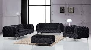 100 Modren Sofas Mercer Black Sofa
