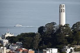 Coit Tower Mural City Life by Restored Coit Tower Opens In Top Condition Sfgate