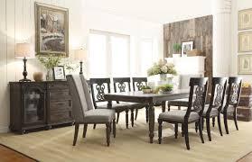 Belmeade Wood Rectangular Dining Table In Old World Oak