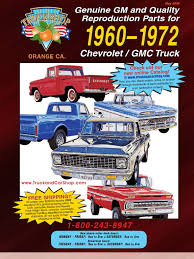 100 Chevy Truck Parts Catalog Free Download GMC Classic Industries DocShare