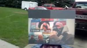Outdoor Indirect Sunlight DIY Black Projection Screen (5 ... How To Build And Hang A Projector Screen This Great Video Sent Interior Backyard Projector Screen Lawrahetcom Backyards Appealing Movie Theater Outdoor Night Free Carls Diy Projection Screens For Running With Scissors Setup Youtube Project Photo On Awesome Best On Budget 6 Steps With Pictures Systems Design Jen Joes 25 Movie Ideas Pinterest Cinema 120 169 Hdtv Indoor Portable Front
