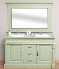 casa padrino landhausstil badezimmer set hellgrün 1 doppelwaschtisch 1 wandspiegel landhausstil badezimmer möbel