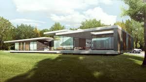 100 River Side House Contemporary Riverside Pavilion Architect Design