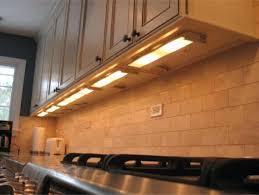 hardwired cabinet lighting led vs in slim kitchen the