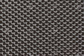 Close Up View Of Dark Grey Outdoor Fabric Cloth Texture Stock Photo