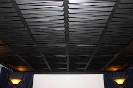 black ceiling tiles 24 x 48