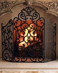 Horchow Fireplace Screen
