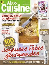 abonnement magazine de cuisine abonnement magazine maxi cuisine abobauer com