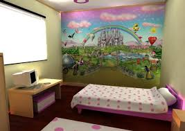18 colorful wall murals for children s room