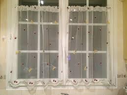 rideau de cuisine en rideaux de cuisine artex court galerie avec rideau sous evier