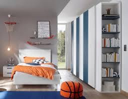 schlafzimmer freli weiß blau inkl regal