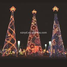 Type Of Christmas Tree Lights by 2016 China Supplier Outdoor Decorations Giant Christmas Tree With