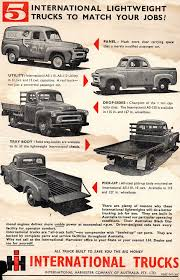 1957 International Harvester Panel Utility Dropsides Tray Body Pick ...