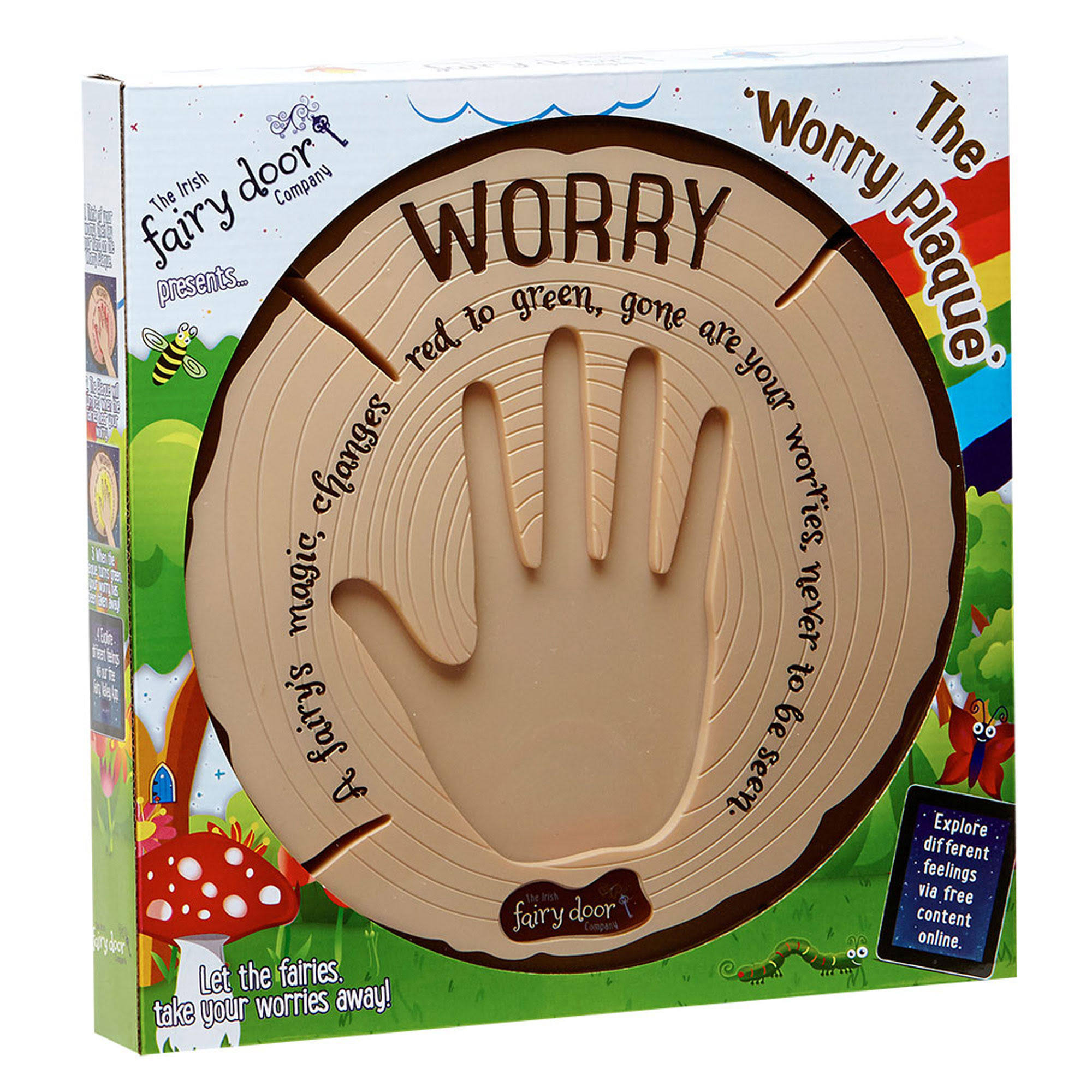 The Irish Fairy Door Company - Interactive Worry Plaque