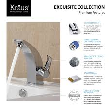 Brushed Nickel Bathroom Faucets Cleaning by Bathroom Faucet Kraususa Com