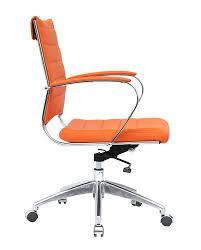 Orange fice Chair Home fice
