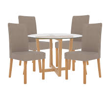 Oak & Glass Round Dining Table And Chair Set With 4 Seats | Charcoal ... Paris 80 Cm Round Ding Table 4 Chairs In White Whitegrey Bellevue Pub D8044519 Cramco Counter Height Seater Oslo Chair Set Temple Webster Ding Table Chairs Easyhomeworld And Aamerica Port Townsend 5 Pc Oak Glass And With Fabric Seats Amazoncom Coavas 5pcs Brown Kitchen Rectangle Vfuhrerisch Black Wood Red Small Cheap Find 8 Solid Davenport Ivory Dav010